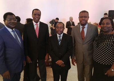 20 1. Ambassador Mr. Samuel S. Nuuyoma (Namibia) 2. Ambassador Isaac J. Ochieng (Kenya) 3. Ambassador Mr. Thomas S. Bvuma (Zimbabwe)