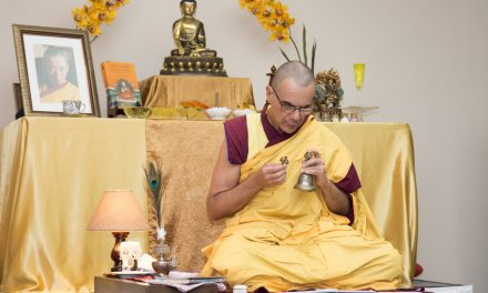 03-01 Lecture with Buddhist Monk Gen Kelsang Drime
