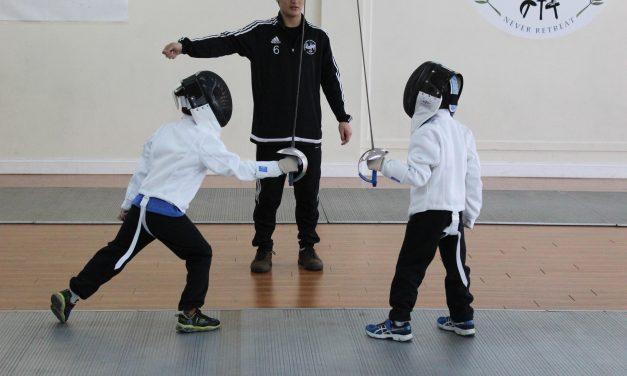 03.03 – Fencing Workshop for Kids