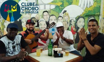 02-28 Samba group Língua de Gato at Clube do Choro