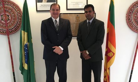 Interview with Chargé d'Affaires of Sri Lanka, Mr. Premanthilake Jayakody
