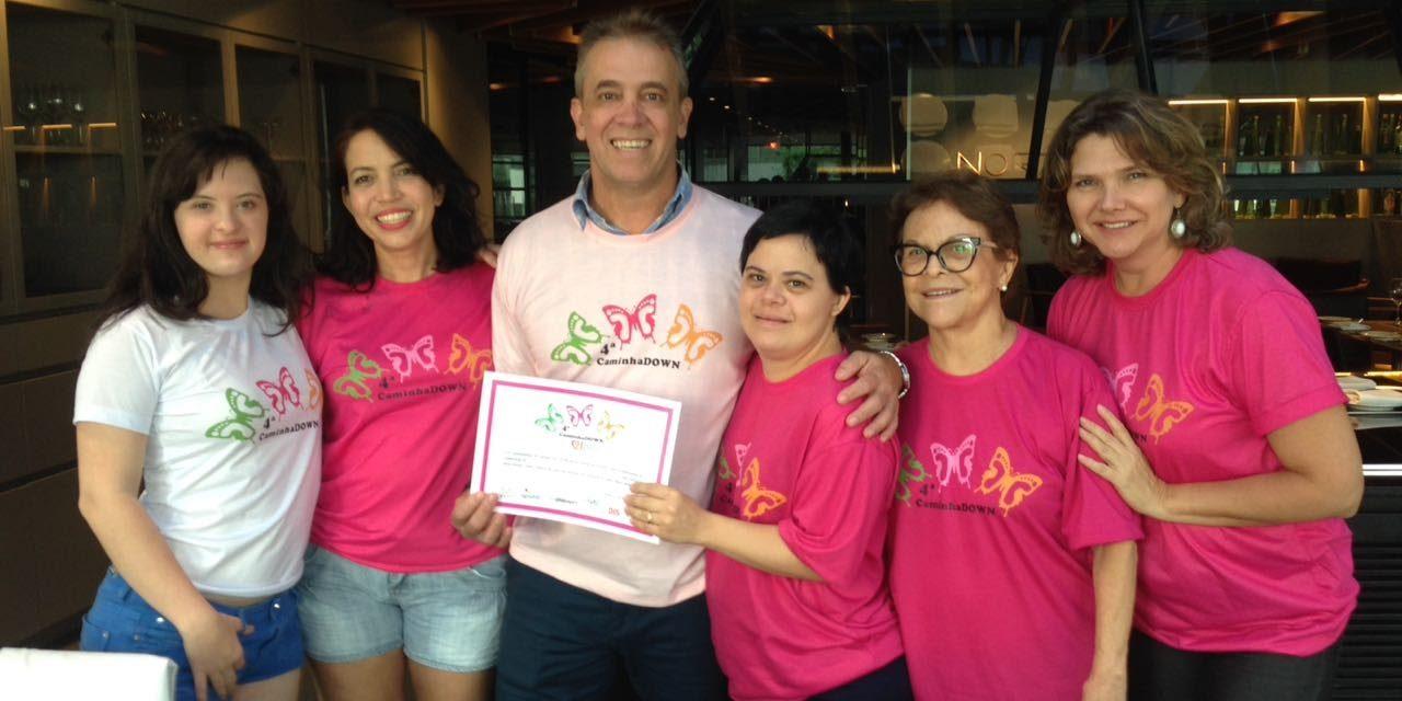 Meliá Brasil 21 welcomes Ms. Débora Seabra for the 4th CaminhaDown