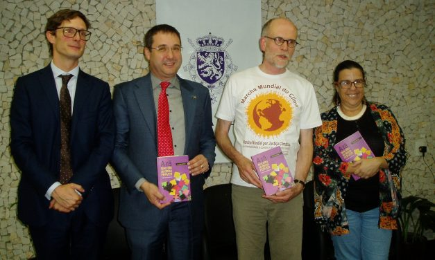 Belgium Embassy organizes cocktail for book launch
