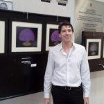Artist Leonardo Branco on display at THE GUIDE