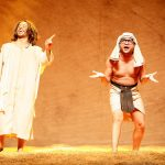 "Comedy company  Melhores do Mundo presents the play ""Hermanoteu na Terra de Godah"""