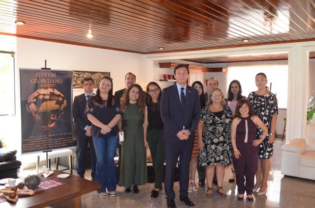 Ambassador of Georgia meets with journalists