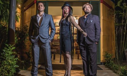 """""""Trio fusion"""", a group that mixes some music styles will perform at the Clube do Choro"""