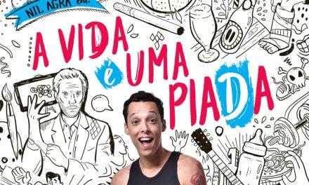"""The Stand-up show """"A Vida é uma Piada"""" (Life is a joke) at Teatro dos Bancários"""