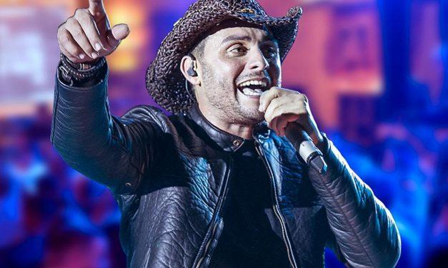 Sertanejo singer Mano Walter in Brasília