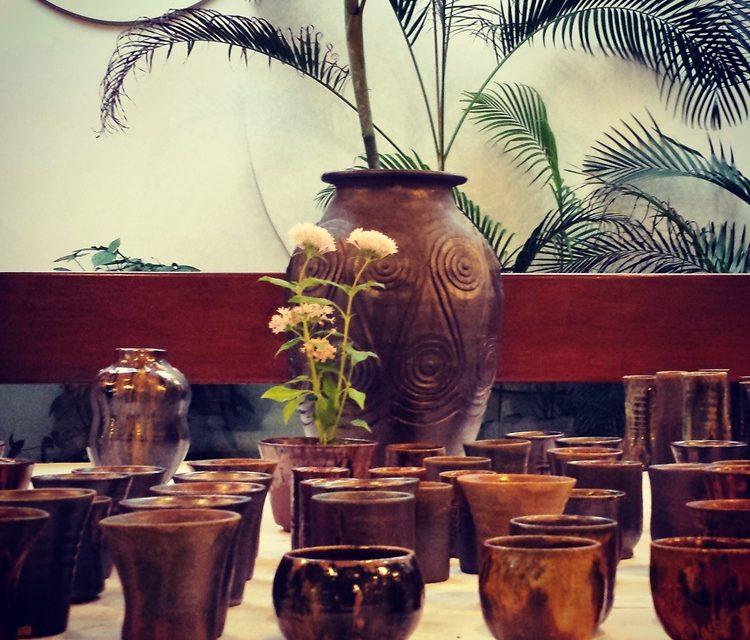 Exhibition of Japanese ceramic by Honjo Masayuki