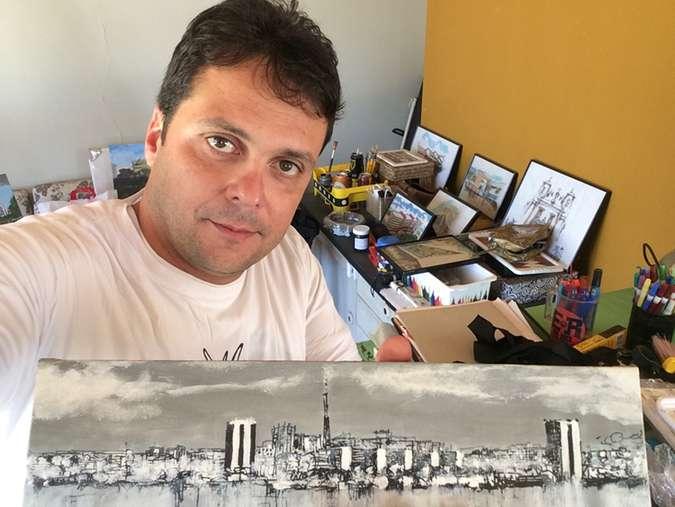 "Art exhibition ""Então, Brasília"""