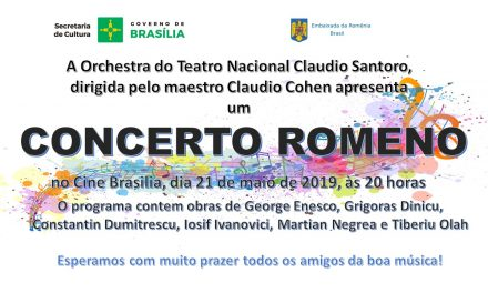 A Romanian Concerto – Tuesday, May 21 at 8pm