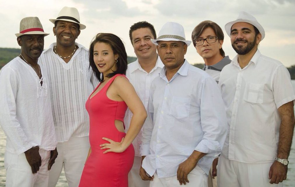 "Band ""Sabor de Cuba"" performs at Clube do Choro"