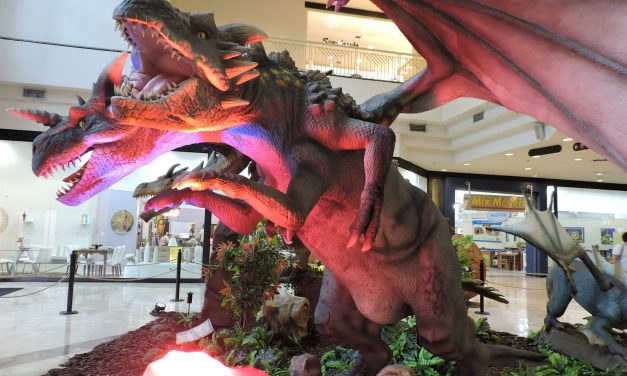 Dragons Exhibition at Shopping Boulevard