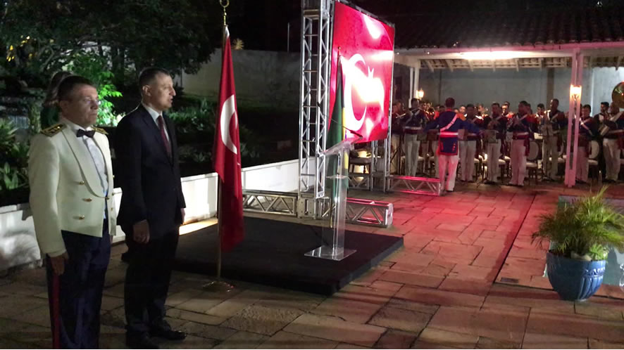 Embassy of Turkey celebrates Victory Day