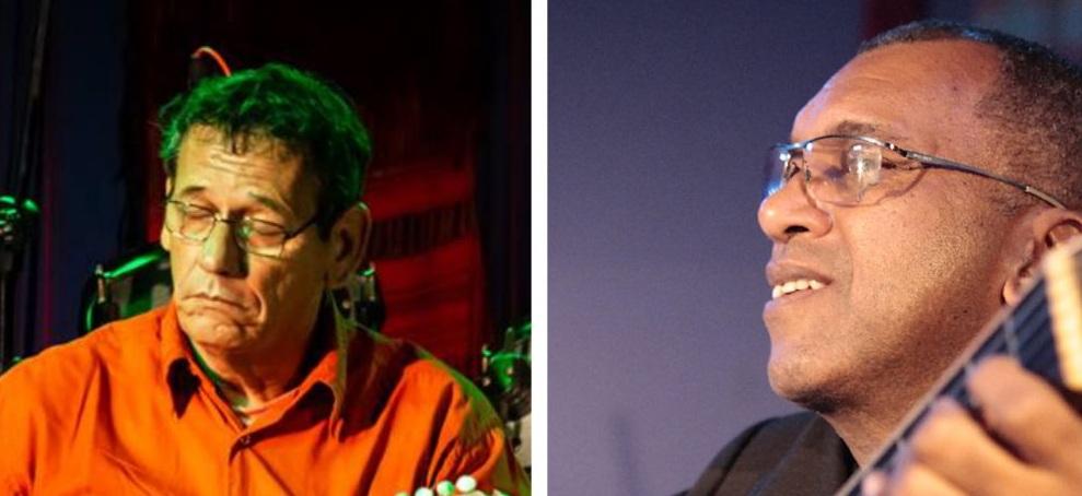 Brazilian Musicians Carlos Henrique Machado and Ciron Silva at Clube do Choro.