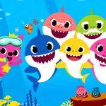 """Kids Spectacle: """"O Natal da Família Tubarão"""" (The Shark Family's Christmas) at Teatro dos Bancários."""