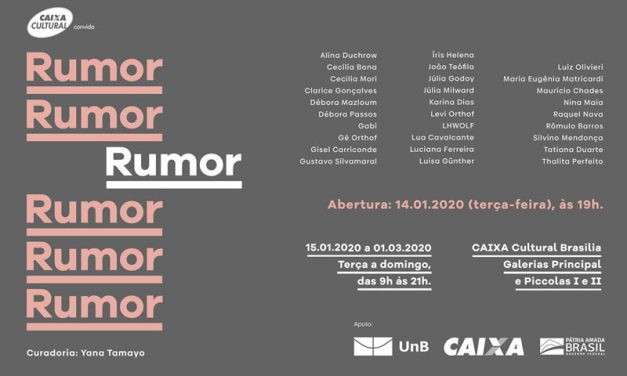 "Exhibition ""RUMOR"" at Caixa Cultural"