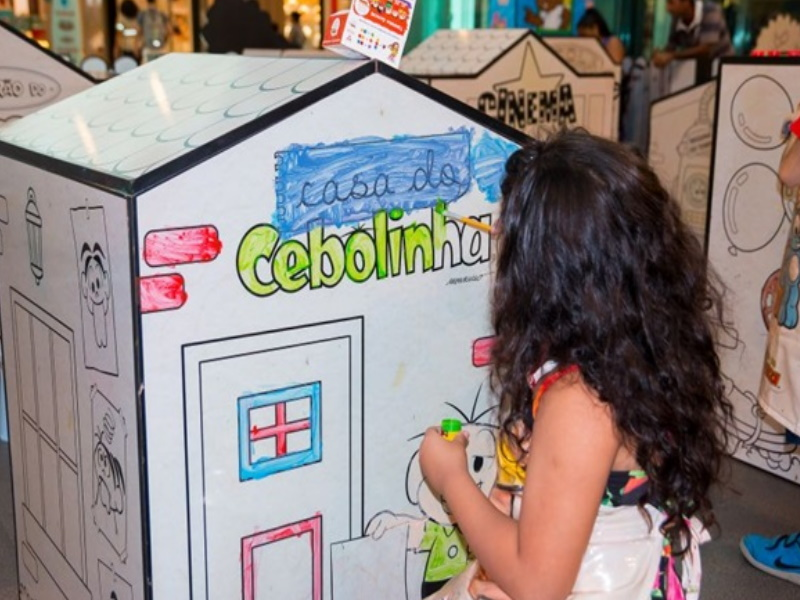 Cidade Colorir Turma da Mônica brings creative activities for kids at ParkShopping.
