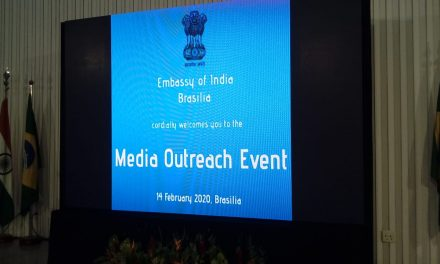 Embassy of India promotes MEDIA OUTREACH EVENT to Brazilian media outlets
