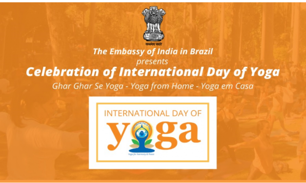 The Embassy of India in Brazil celebrates the International Day of Yoga with many online activities for you to practice at home.