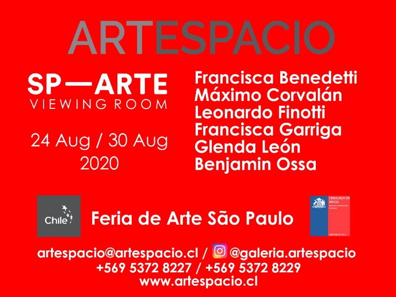 Embassy of Chile informs: Artespacio gallery presents the Feria de Arte São Paulo.