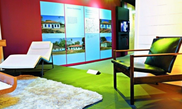 Art Exhibit dedicated to the history of furniture design at the National Museum.