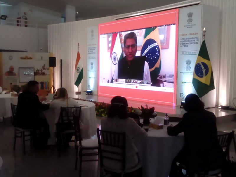 Embassy of India promotes event about Pharmaceutical Sector