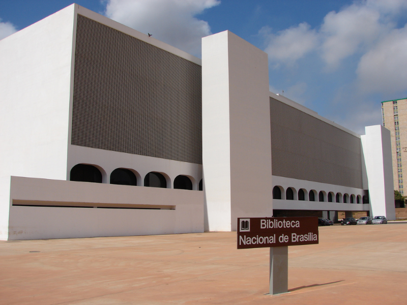 Brasilia's National Library reopens its doors for the public!