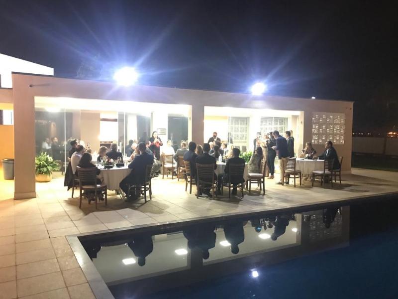 Embassy of Palestine held dinner for journalists of ABRAJINTER